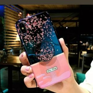 Accessories - Cherry Blossom Phone Case Cover For iPhone 6 to XS